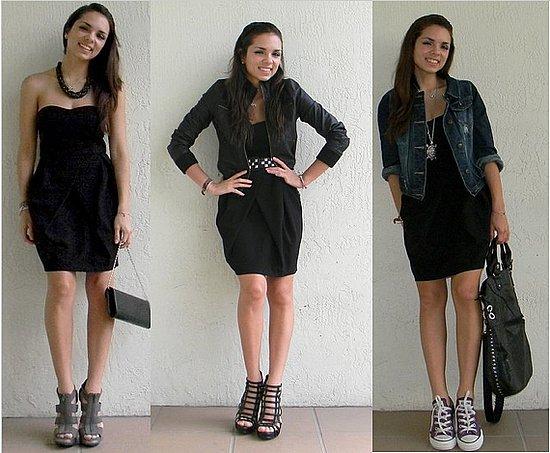 Hacer un look sexy con accesorios y prendas clásicas