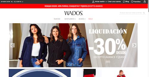wa2 moda de jeans en chile